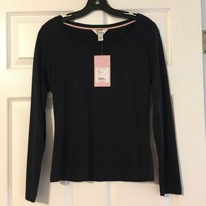 NWT Lilly Pulitzer L/S Ballerina Tee Silk/Cotton S